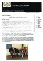 Newsletter September 2018