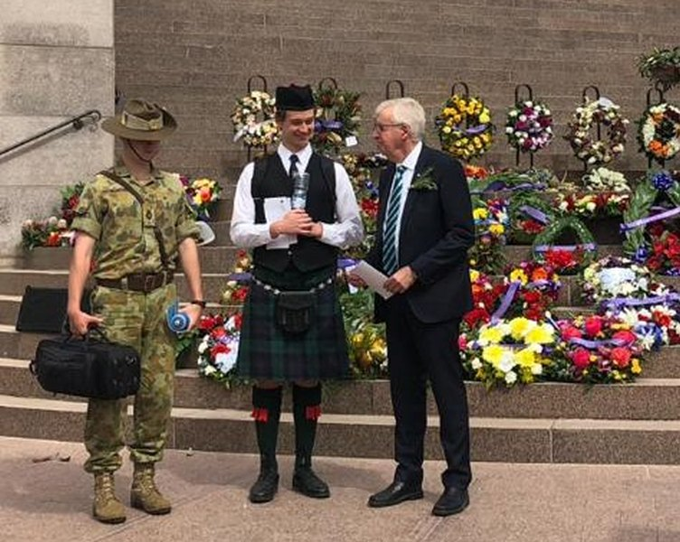 RSL and Schools Remember ANZAC Service