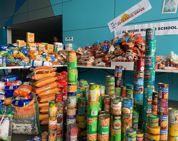 Life without Barriers Food Drive
